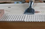 ギター内部音波の乱反射板